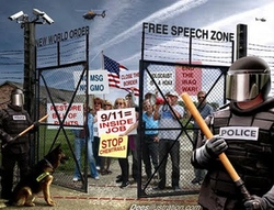 Obama - NWO free speech zone