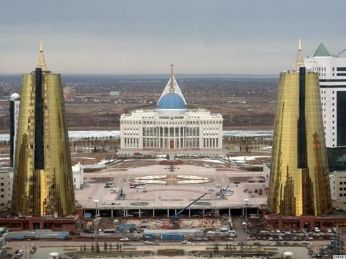 ASTANA la capital de Kazajistán Palace