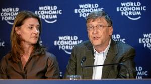 Bill Gates y su esposa Melinda