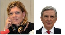 Stefanie Claudia Müller, Korrespondentin der Wirtschaftswoche in Spanien und Doktorandin der Wirtschaftsfakultät der San Pablo CEU in Madrid und Roberto Centeno, Wirtschaftsprofessor der Polytechnischen Universität in Madrid.