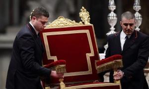 trono papa